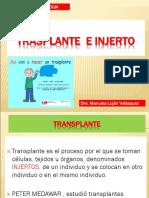 Transplantes inmunologia