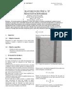 Fisica II Informe Ondas Estacionarias