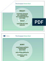 Presentation de La Communication Du Green Deal Commission Europeenne