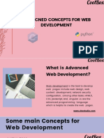 Advacned Concepts for Web Development