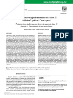 13-Orthodontic-surgical Treatment of a Class II Division 1 Patient