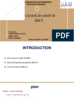 Présentation Comité de Bale II