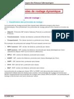 Protocoles de Routage Dynamique