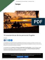 10 Características de Las Personas Frugales - La Riqueza Es Tiempo