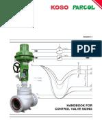 Koso Parcol Control Valve Sizing Handbook