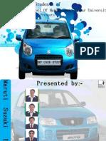 Maruti Suzuki ERP