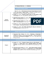 My Publications List