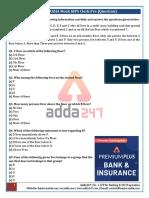 IBPS Clerk Prelims Maha Mock-2 Questions (1)