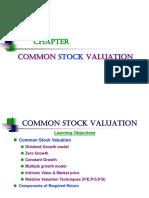 Chap 10 IM Common Stock Valuation (1)
