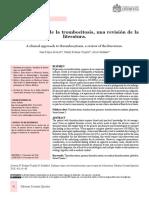 Trombocitosis