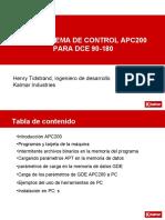 DANA SISTEMA DE CONTROL APC200