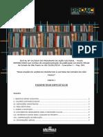 Modelo Edital Proac Incentivo a Leitura