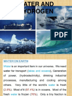 Form 1 5 Water and Hydrogen