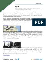 Literatura Argentina y Tic