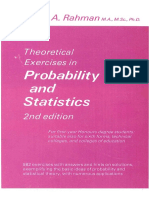 Theoretical Exercises in probability and Statistic-N. a. Rahman