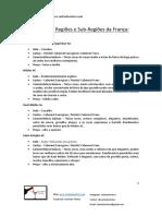 Principais Regiões Vinícolas Da França