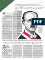 José Luis Bustamante y Rivero y Sus Obras Completas