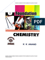 (IIT JEE Foundation) K K Anand Chennai - Booklet 2 of 8 th Foundation Chemistry standard 8  IIT JEE Foun~0