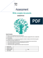 Assessment BSBWRT401