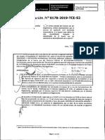 RESOLUCION N°178-2019-TCE-S2 (RECURSO APELACION)