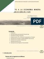5 - Acercamiento a La Economía Minera - JM Carrera JMC y Asociados