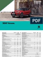 SEAT Arona 2019 Brochure