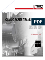 Cambio Aceite Transmision ZF
