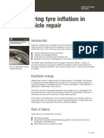 Safety During Tyre Inflating