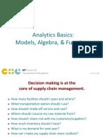Analytics Basics