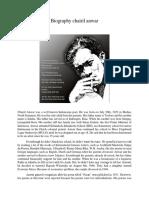 Biography Chairil Anwar Aziz