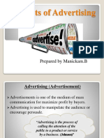 Benefits of Advertising
