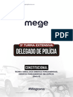 Ponto 4 Teoria Geral Dos Direitos Fundamentais Direitos Fundamentais Em Especie Prof Camila Bessas 13196
