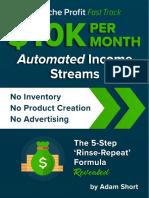 10K Per Month Income Streams