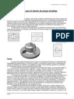 Criterios de Diseño en Fundicion