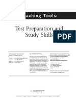 Test Prep and Study Skills