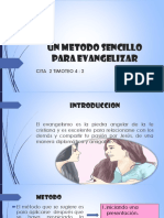 Un Metodo Sencillo Para Evangelizar