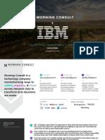 IBM + Morning Consult Italian Food Reponsibility Study 12.4.19