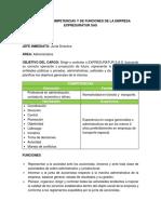 Manual de Funciones Trabajo Sena