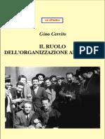Cerrito-Il Ruolo Dell'Organizzazione Anarchica