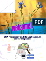 DNA Micro Array and Its Application in Cancer Diagnosis