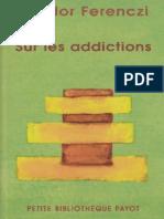 [Ferenczi Sandor] Sur Les Addictions(Z-lib.org).Epub