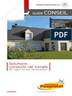 Cheminees Poujoulat GuideConseil RT2012 DTU241