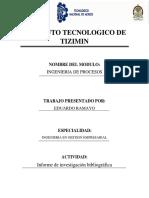 Informe de investigacion (Principios de economía de movimientos, Clasificación de estudios de tiempos)