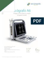 Ecografo A6 Dig Nuevo