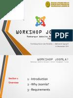 Workshop Joomla! #01