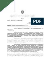 Vidal reglamentó el cupo laboral trans al final de su mandato