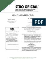 ACUERDO MINISTERIAL 103 Instructivo Al Reglamento de Aplicación de Los Mecanismos de Participacio