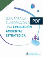 Guía para la elaboración de una Evaluación Ambiental Estratégica (2019)