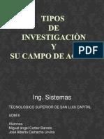 tiposdeinvestigacionysucampo-120920211534-phpapp01
