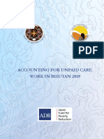 Bhutan NCWC Accounting for Unpaid Care Work